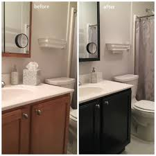 Bathroom Sink With Cabinet by How To Update The Color Of Your Bathroom Vanity Cabinet Youtube