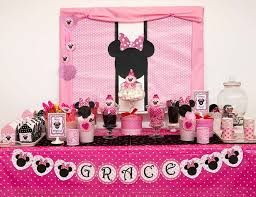 minnie mouse birthday decorations minnie mouse themed birthday banner minnie mouse birthday