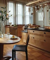 Black Oak Kitchen Cabinets Kitchen Cool Image Of U Shape Kitchen Decoration Using Birch