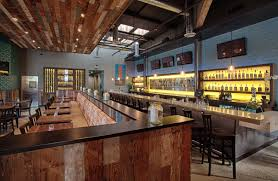 interior modern rustic industrial restaurant design ideas