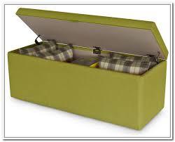 suede ottoman storage bench home design ideas