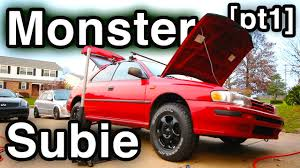 subaru forester decals subaru forester suspension swap monster subie transformation