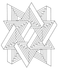 hard geometric coloring pages print out colouring sheets to design