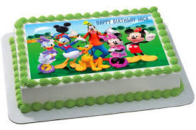mickey mouse cake mickey mouse clubhouse 3 edible cake or cupcake topper edible