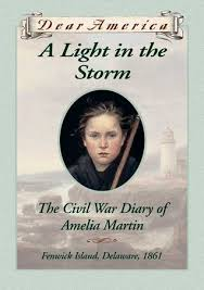 a light in the storm the civil war diary of amelia martin
