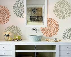 bathroom stencil ideas peaceful design ideas bathroom stencil designs 2 i really this