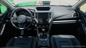 subaru crosstrek interior 2018 review all new 2017 subaru xv first drive videos