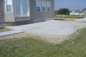 Concrete Ideas For Backyard by Concrete Backyard Large And Beautiful Photos Photo To Select