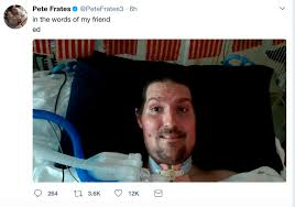 buckley local hero pete frates once again safe at home boston
