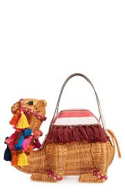 kate spade new york spice things up wicker camel handbag nordstrom