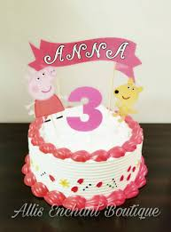 peppa pig decorations peppa pig cake topper cake toppers cake decorations peppa pig