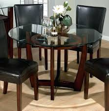 oval glass top dining room tables glass top dining room tables