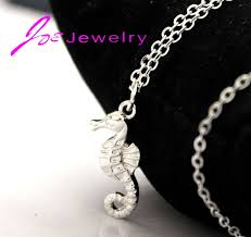 2017 new silver ornaments seahorse s design factory direct