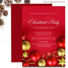 Christmas Ornament Party Invitations - 24 best christmas invitations kids christmas party invitation