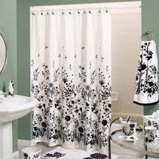 discount fabric shower curtains shower brown wooden storage