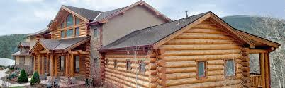 Colorado Home Builders Log Home Builders In Colorado Log And Deck Railing Fabricator