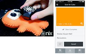 nix color sensor helps you match your paint to your new shirt