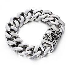 chain bracelet mens images Trustylan fashion jewelry solid heavy 316l stainless steel jpeg