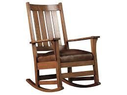 Mission Oak Rocking Chair Stickley Oak Mission Classics Chapel Street Slat Back Rocker