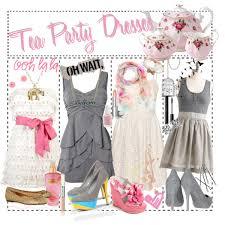 tea party wedding polyvore