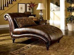 Chaise Lounge Sofa by Sofas Center Furniture Brown Microfiber Double Chaise Lounge