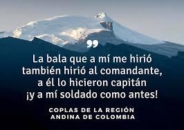 imagenes de coplas de despedida 10 coplas de la región andina de colombia lifeder