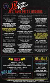jb u0027s burger kitchen delivery menu with real prices lincoln ne