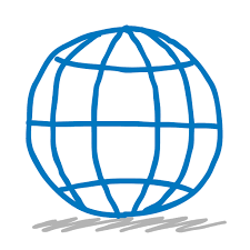 sketchy sketch earth world globe web global planet icon