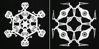 how to make star wars snowflakes diy u0026 crafts handimania