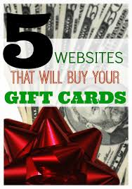 selling gift cards online 5 websites that will buy gift cards for what does