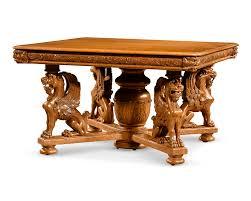 Oak Dining Room Antique Furniture American Furniture Dining Set Horner