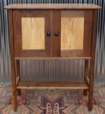 Walnut Wine Cabinet Walnut Maple Wine Cabinet Custom Furniture Portland Or