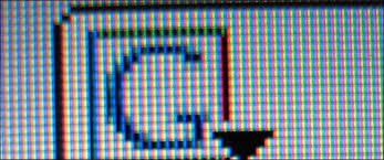 fix stuck pixel lcd monitor