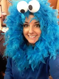 Monster Halloween Cookies by Diy Cookie Monster Halloween Costume Sesamestreet Halloween