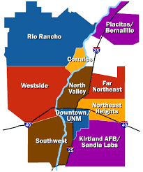 afb map resources page for relocating to kirtland air base