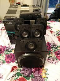 logitech speaker wall mount logitech z 906 5 1 surround sound speakers thx certified 150