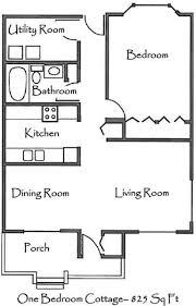 one bedroom cottage floor plans www one bedroom cottage floor plans shoise