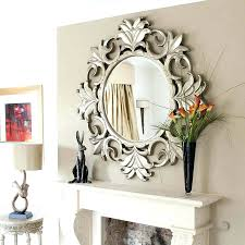 Home Decor Australia Round Wooden Mirrorlarge Decorative Mirrors Ebay Large For Living
