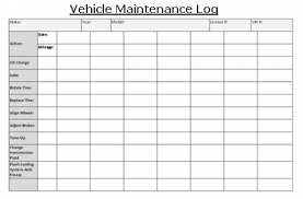 Vehicle Maintenance Sheet Template Vehicle Maintenance Log Book Thebridgesummit Co