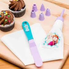 Where To Buy Cake Decorating Supplies Disneys Frozen Kids Baking Sets For Sale Anna U0026 Elsa 7pc Zak