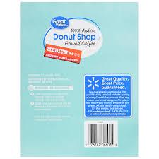 Walmart Store Floor Plan Great Value Donut Shop Ground Coffee Single Serve Cups Medium