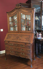 Antique Bookcase Desk Combo Antique Desks U0026 Secretaries 1900 1950 Ebay