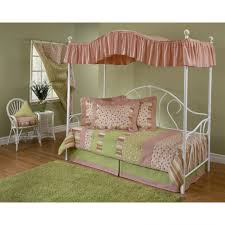 Twin Size Canopy Bed Frame Bedroom Furniture Sets Wall Bed Canopy Metal Bed Frame Full