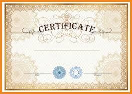 blank certificate template blank gift certificate template free
