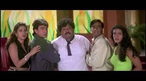 film comedy on youtube ishq movie comedy scene ajay devgan aamir khan juhi chawla