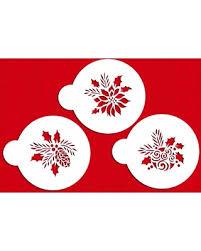 Semi Ornaments New Shopping Special Designer Stencils C724 Forever Green Ornaments