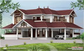 Luxury Home Design Kerala Kerala Style Sloping Roof Home Exterior Kerala Home Design And