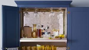Home Bar Cabinet by Style Tips For A Swanky Home Bar Martha Stewart