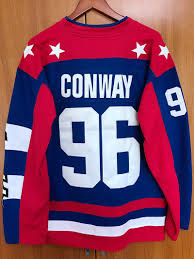 Mighty Ducks Flag Ej Mighty Ducks D2 Movie Team Usa Hockey Jersey 96 Charlie Conway