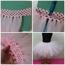 how to make tulle skirt how to make a tutu tutu craft and crafty